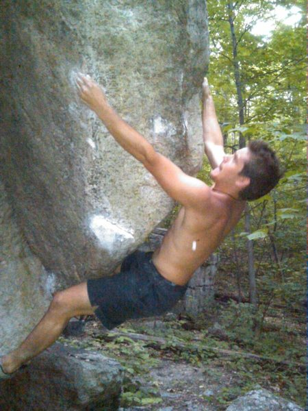 Out of ashes in the gunks