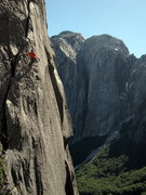 Rock Climbing Photo: Nate Conroy on Humpty Dumpy 5.11b in the Trinidad ...
