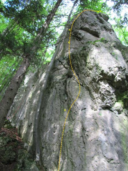 Rock Climbing Photo: The general run of Zölibat ist fad. You can tell ...