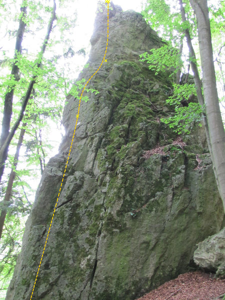 Rock Climbing Photo: Another view of Ostergärtchen to provide a little...