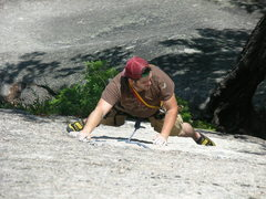 Rock Climbing Photo: Me on Bombardment Photo by Edge