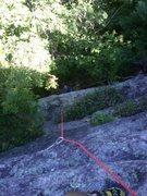 Rock Climbing Photo: me getting ready to follow