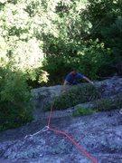 Rock Climbing Photo: me following