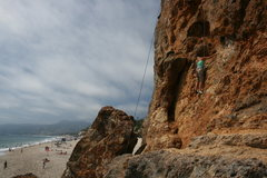 Rock Climbing Photo: South Face looking north on a nice uncrowded day.