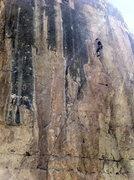 Rock Climbing Photo: Climbet cruisin this Circus Wall classic.