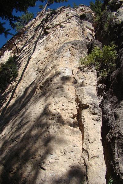 Rock Climbing Photo: Not the least bit corny.
