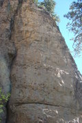 Rock Climbing Photo: Also known as The Memorial Climb, this is one of t...