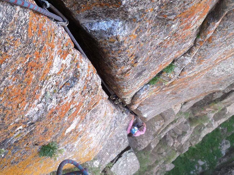 Rock Climbing Photo: P2 o.w.
