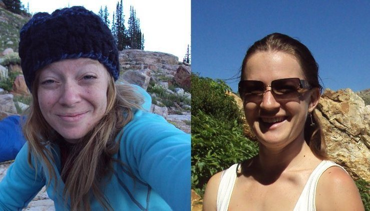 The left person is likely the owner of a camera found in the Hoover Wilderness.