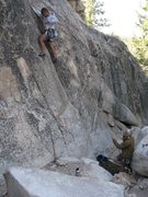 Rock Climbing Photo: Great last climb of the day.