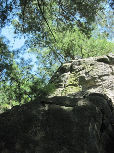 Rock Climbing Photo: Part two.