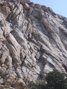 Rock Climbing Photo: The Swift. You can easily see the 2nd belay ledge....