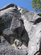 Rock Climbing Photo: good stemming