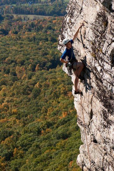 Rock Climbing Photo: rockn up high exposure