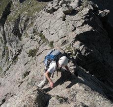 Rock Climbing Photo: Dave Cooper.