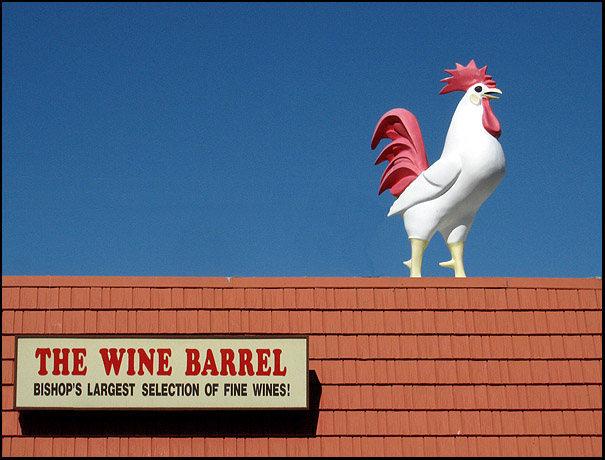 Rock Climbing Photo: Manor Market. Best beer and wine in Bishop. Look f...