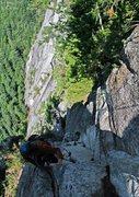 Rock Climbing Photo: Europa pitch 2