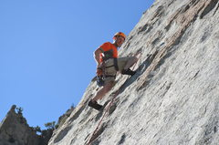"Rock Climbing Photo: Climbing ""Leggo My Eggo"" in LCC"