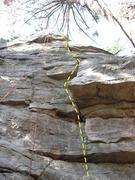 Rock Climbing Photo: Acute Corner 5.7.