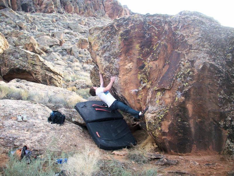Rock Climbing Photo: ........