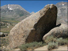 Rock Climbing Photo: The Bowling Pin and Basin Mountain. Photo by Blitz...