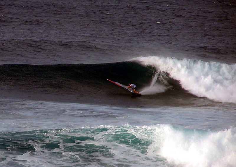 Rock Climbing Photo: Lanes north shore Maui Photo: Olaf Mitchell