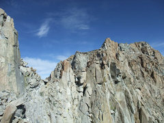 Rock Climbing Photo: ridgeline on the way to Mendel