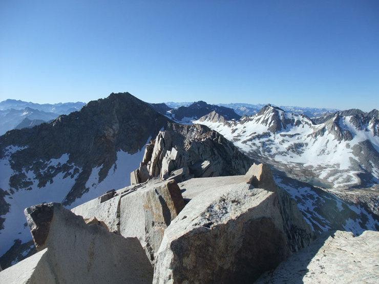 Rock Climbing Photo: Huxley summit