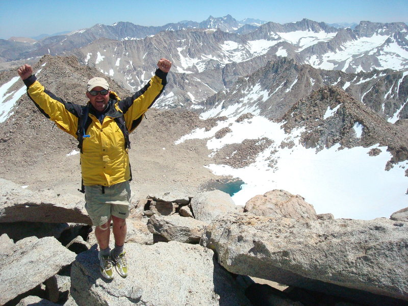Summit of Mt. Lamarck