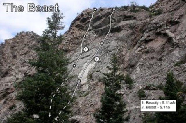 Rock Climbing Photo: Bell's Beast