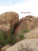 Rock Climbing Photo: Dancing on Dimes