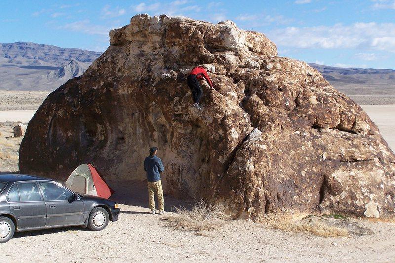 Rock Climbing Photo: Mr. B