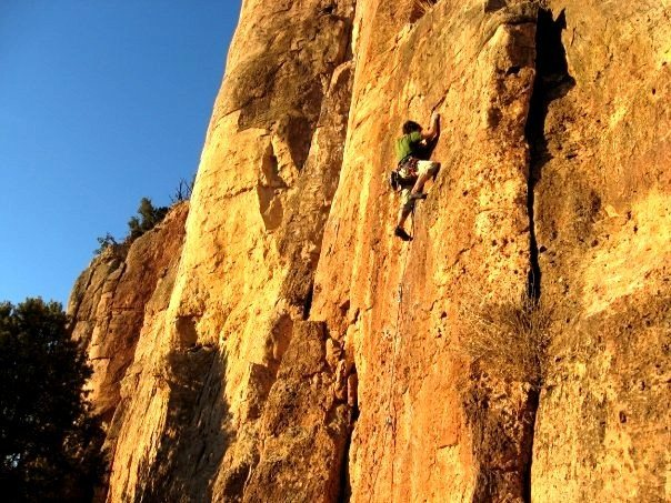 Rock Climbing Photo: 10d