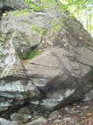 Rock Climbing Photo: cleaned this last year so may need another brushin...