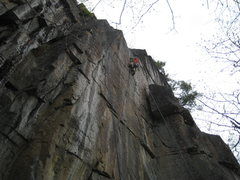 Rock Climbing Photo: Jon on Zonkers....guy!