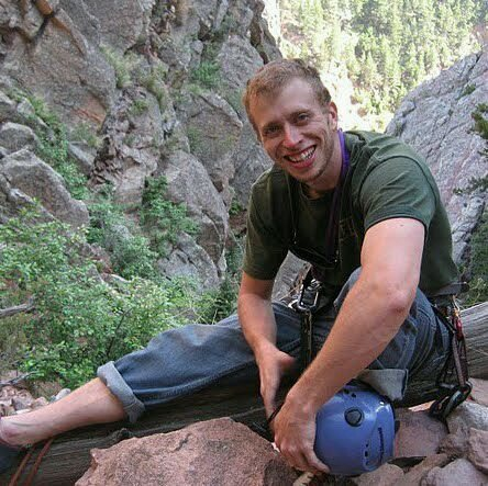 Rock Climbing Photo: at the bottom of windy tower...  eldo canyon.