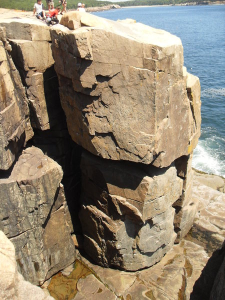The Sea Stack/Otter Cliffs.... Acadia