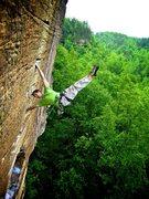 Rock Climbing Photo: Banshee RRG 5.11c