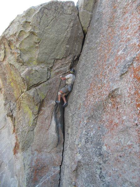 "Fritz nearing crux of ""Z-Cracks."""