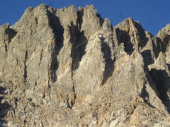 Rock Climbing Photo: Mt. Winchell West Aretes. McKenzie's Arete is the ...