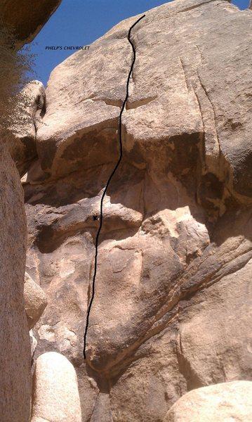 Rock Climbing Photo: Phelp's Chevrolet