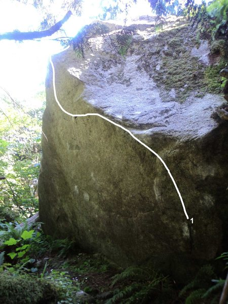 Rock Climbing Photo: 1. The Shining