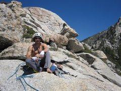 Rock Climbing Photo: Yes, i just climbed the Vampire. Yes, i am super c...