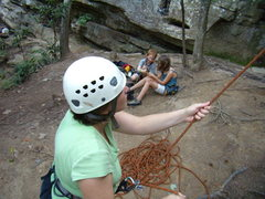Rock Climbing Photo: Red River Gorge Summer 2011 family trip.