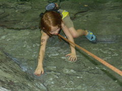 Rock Climbing Photo: La Familia Ream at the New River Gorge.  Summer 20...