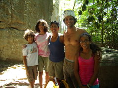 Rock Climbing Photo: Our new friends at the New River Gorge.  Summer 20...