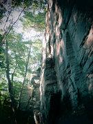 Rock Climbing Photo: Chatfield hollow