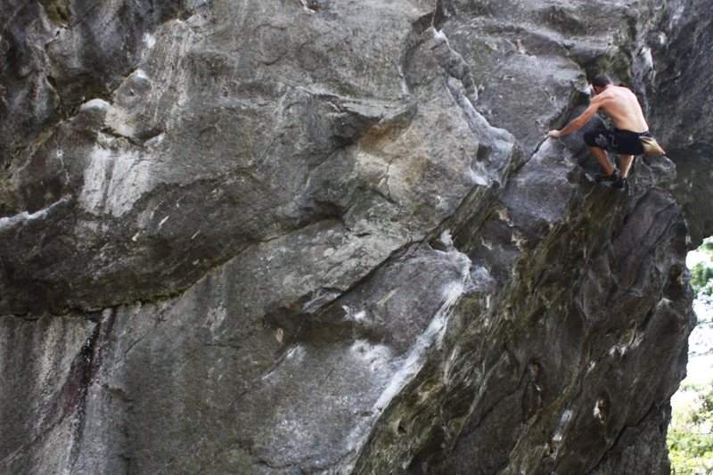 "Rock Climbing Photo: Tim Deroehn ""bouldering"" as he put it, S..."