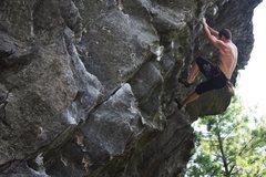 Rock Climbing Photo: Tim Deroehn on Social Outcast.