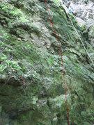 Rock Climbing Photo: The beginning of Keltenpfad